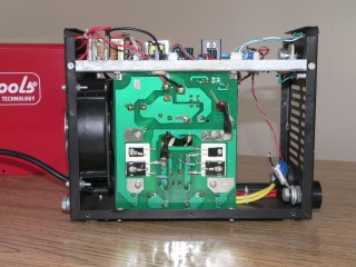 Inside inverter welder